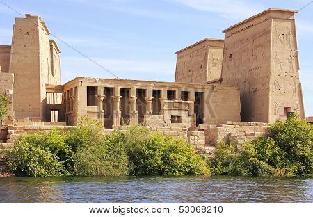 Philae Temple, Lake Nasser, Egypt