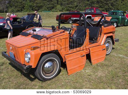 1974 Volkswagen Thing Orange Car