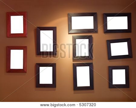 Ten Frames On Wall