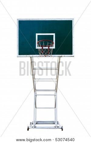 Basketball Board In In White Background