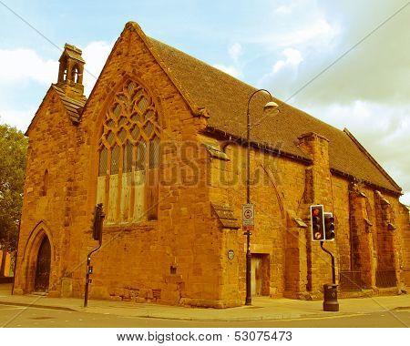 Retro Looking St John Hospital, Coventry