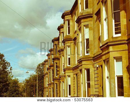 Retro Look Terraced Houses