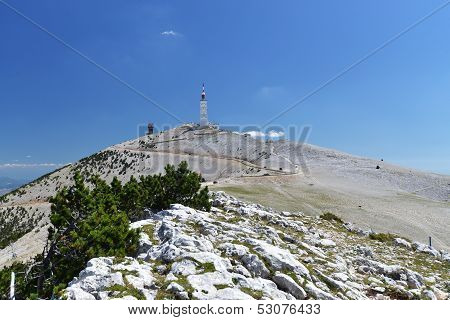 Peak of Mont Ventoux