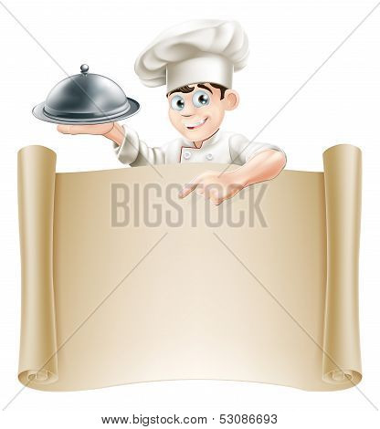 Chef Menu Banner