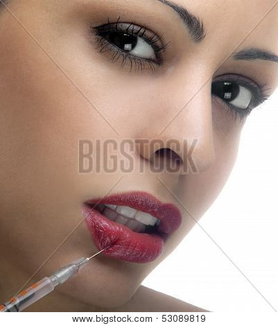 Woman With Syringe