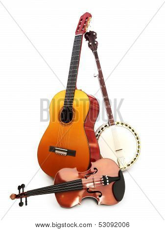 Stringed music instruments