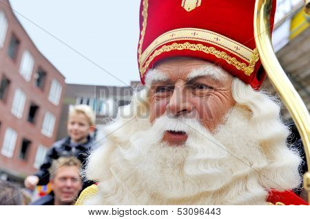 Close Up Of Sinterklaas