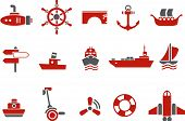stock photo of u-boat  - Vector icons pack  - JPG