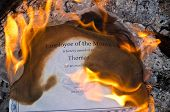 pic of employee month  - A Burning Employee of the Month Certificate - JPG