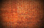 Weathered texture of stained old dark white and red brick wall background, grungy rusty blocks of st