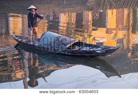 Fisherman In Vietnam