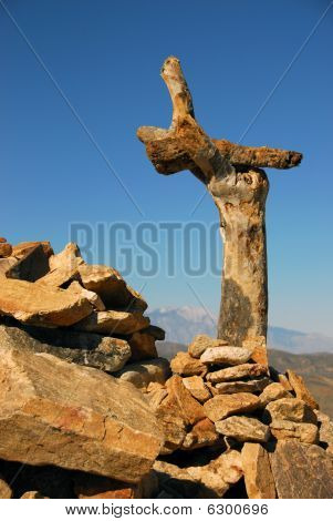 Joshua Tree Rock Sculpture