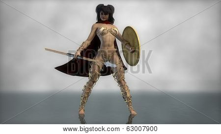 sparta female warrior