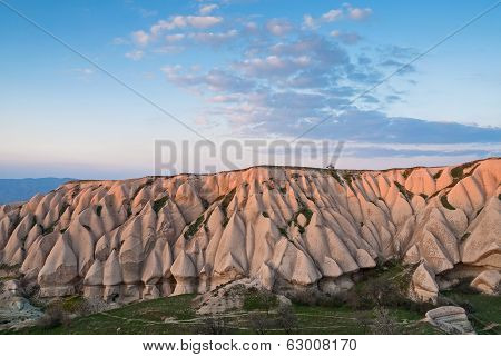 Landscape In Cappadocia, Turkey