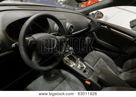 Interior of a high class car