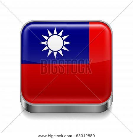 Metal  icon of Taiwan