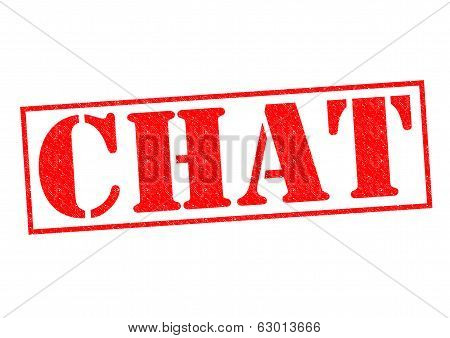 Chat Rubber Stamp