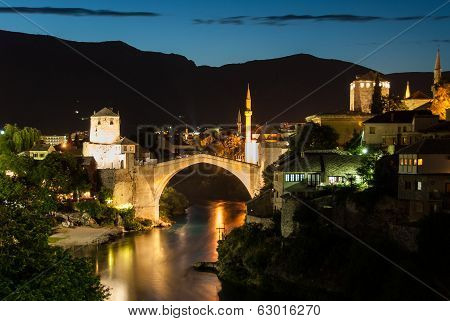 The Mostar Bridge