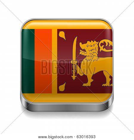Metal  icon of Sri Lanka