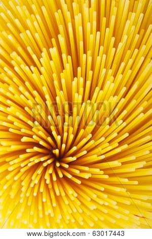 Background of pasta closeup