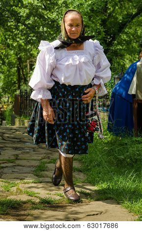 Old Woman from Maramures