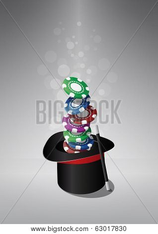 Top Hat Chips Casino