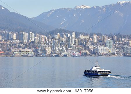 Vancouver Seabus, Burrard Inlet