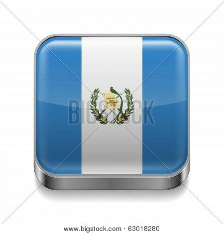 Metal  icon of Guatemala