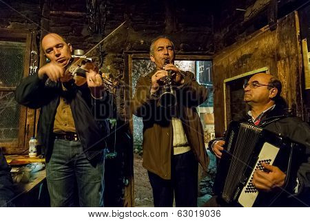 Musicians In Greece