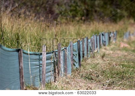 Environmental Retaining Barrier