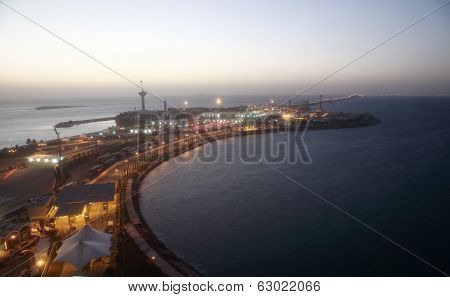King Fahd Causeway in Bahrain