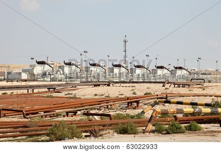 Oil And Gas Industry In The Desert