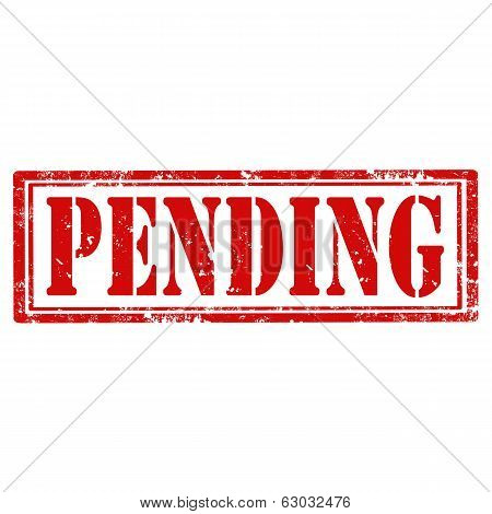 Pending-stamp