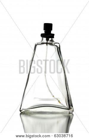 Perfume Bottle Isolated.