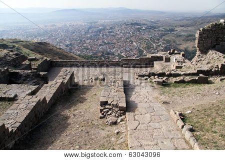 Ruins In Acropolis