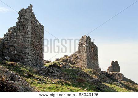 Towers In Pergam