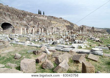 Ruins In Agora