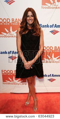 NEW YORK-APR 9: TV personality Kelly Bensimon attends the Food Bank for New York City's Can Do Awards Dinner Gala at Cipriani Wall Street on April 9, 2014 in New York City.