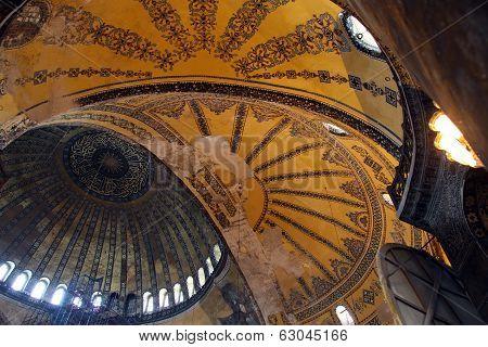 Domes In Aya Sophya