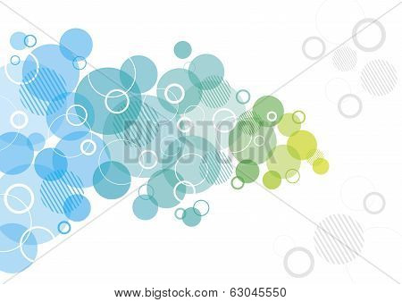 Abstract Design with Circles