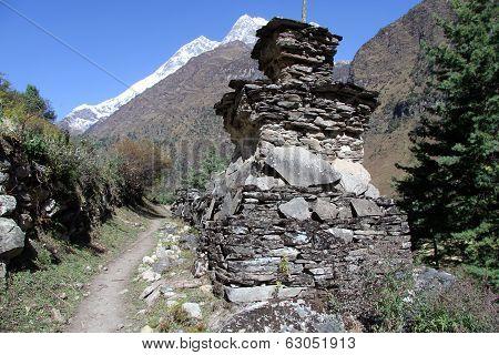 Footpath In Nepal