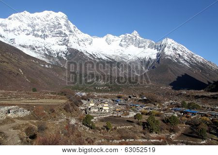 Manaslu And Samagoon