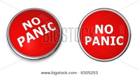 Red No Panic Button