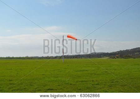 Airfield windsock