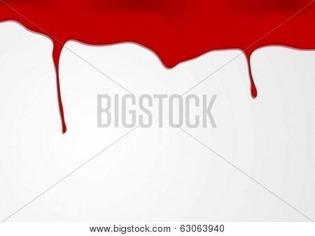 Red blood vector background