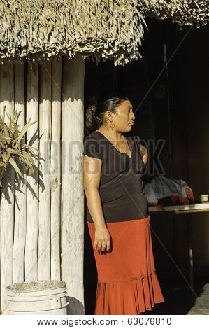 Maya Woman Portrait