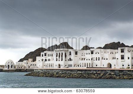 Buildings Muscat Oman
