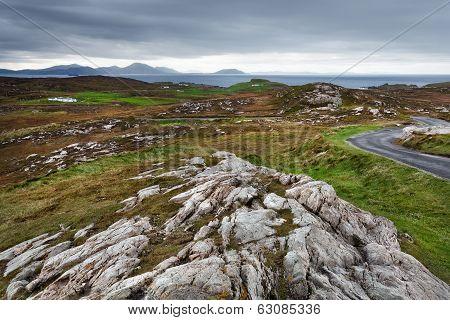 Donegal Rugged Landscape