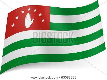 State flag of Abkhazia