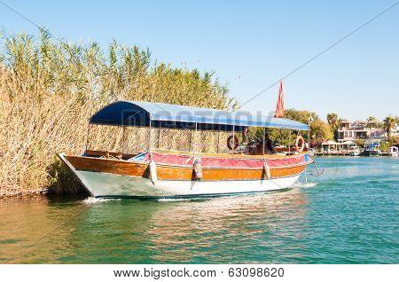 Turkey, A Boat Trip On The River Dalyan